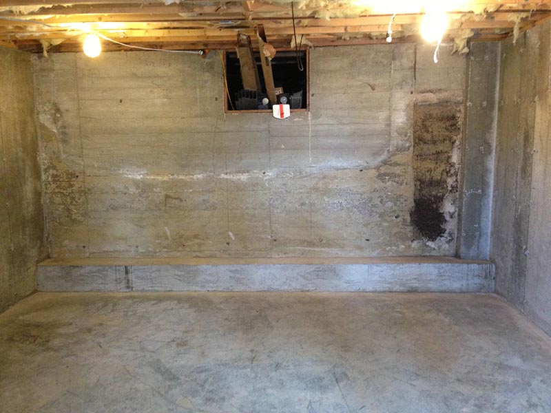 Cold Joint Cove Joint Foundation Sealing Leak Repair