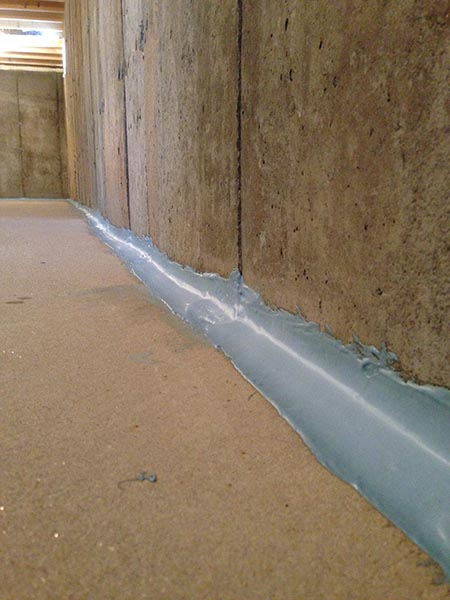 Cold Joint Cove Joint Foundation Joint Sealing